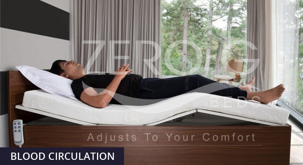 Benefits of Zero Gravity Position For People Suffering from Sleep Disorder